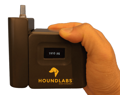 Startup Hound Labs Raises $8.1 Million For Portable Marijuana Breathalyzer Test
