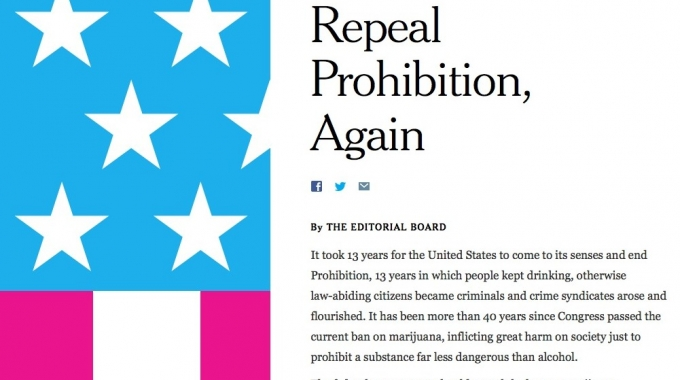 Ny Times Real Prohibition Again