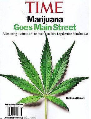 Time Marijuana Goes Main Street